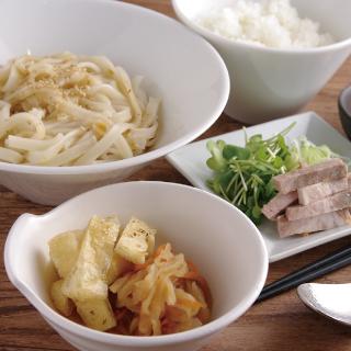 醤油どんそば定食 ごはん・和スープ付 880円(税込)