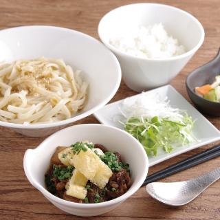 和牛どんそば定食 ごはん・和スープ付 1,080円(税込)